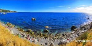 Симеиз пляж море
