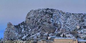 Гора Кошка зимой