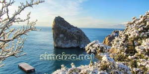 Зима Симеиз