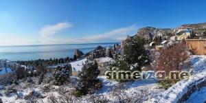 Зима в Симеизе