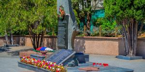 Памятник жителям Симеиза погибшим в ВОВ