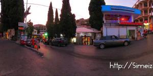 Улицы Симеиза вечером