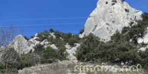 Тропа на гору Кошка