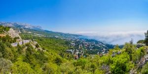 Панорама Симеза с горы Кошка