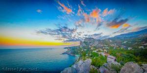 Гора Кошка: панорамное фото