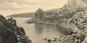 Вид со скалы Дива на Лименский залив