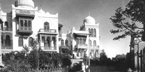 Старое фото виллы Селям