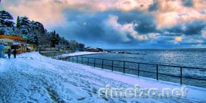 Зимняя прогулка по набережной