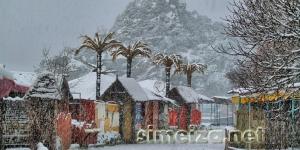 Снегопад в Симеизе