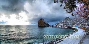 Пляж и набережная в Симеизе