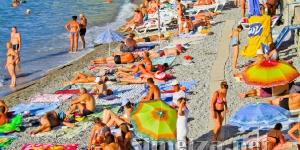 Отдых на пляже в Симеизе