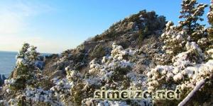 Симеизе зимой: Панеа