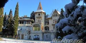 Вилла Ксения зимой
