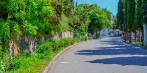 Улицы Симеиза бывают пустыми