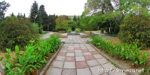 В парке санатория Симеиз