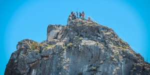 Вершина скалы Дива