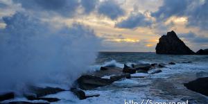 Ураганный шторм в Симеизе