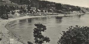 Первые дачи на берегу в Симеизе