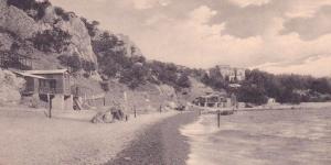 Старый городской пляж в Симеизе