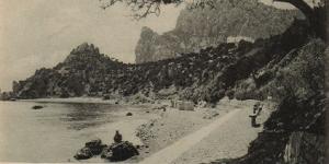 Ай-Панда, пляж в Симеизе