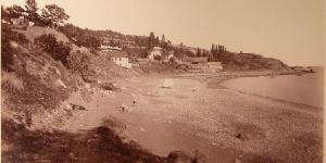 Пляж в старом Симеизе