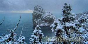 Снежок в Симеизе