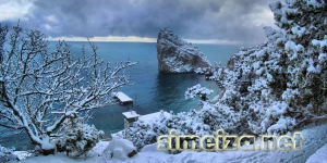 Симеиз - снег
