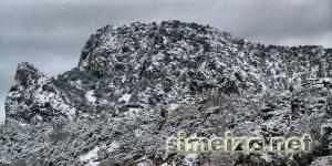 Снег на горе Кошка